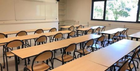 Mobilier scolaire salle de cours lycée-collège Jean 23 Quintin